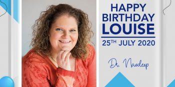 Happy Birthday Louise – 25th July 2020